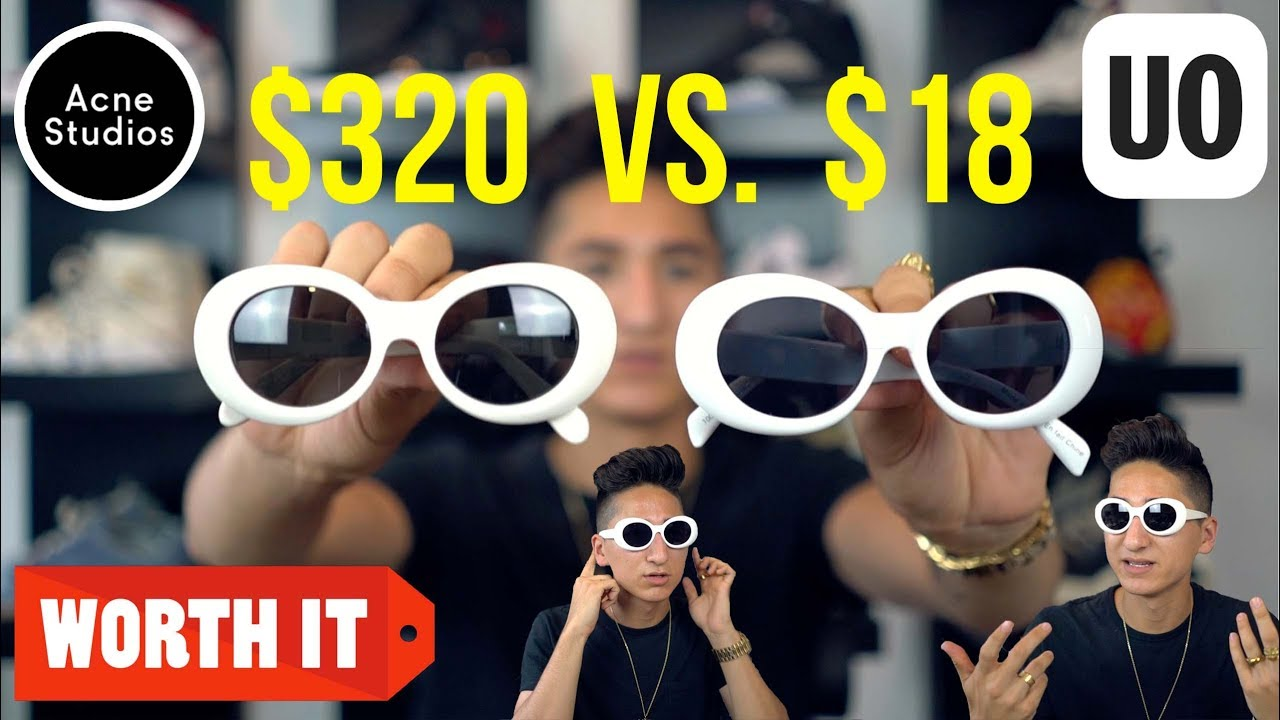 e5aec07c74  320 DESIGNER SUNGLASSES Vs.  18 CLONES FROM URBAN OUTFITTERS! - YouTube