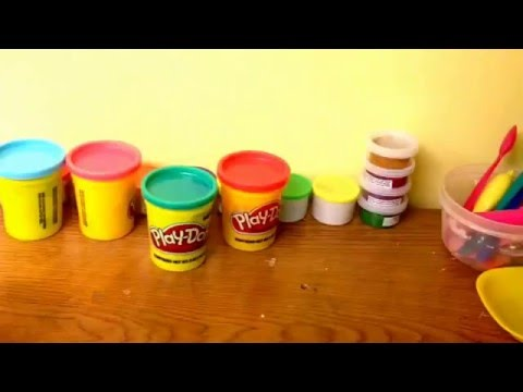 How to make brown play dough