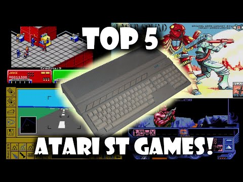 Top 5 Atari ST Games (An impossible List!)