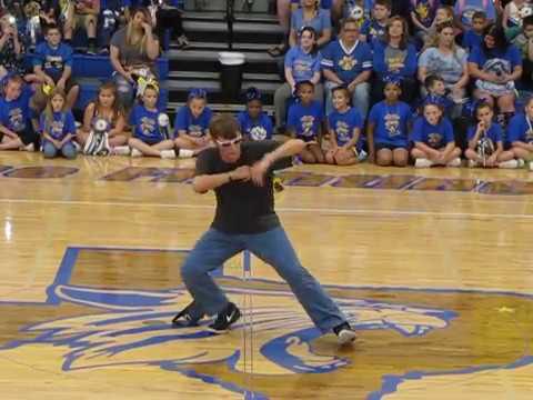 Pep-Rally Preformance | Big Sandy High School | Chase Dance | Chase Baker