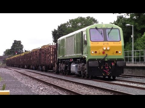 Rare movements including train failures, transfers and rare sightings - 2016