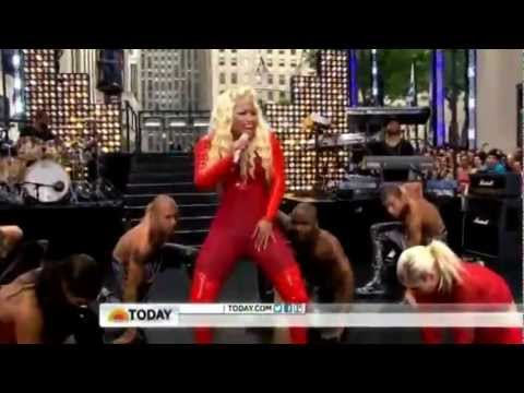 Nicki Minaj - Pound The Alarm (Today Show)