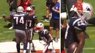 Antonio Brown FIRST TOUCHDOWN With New England Patriots #NFL #AntonioBrown #Patriots Video