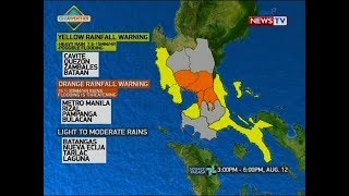 NTVL: Weather update as of 3:43 p.m. (August 12, 2018)