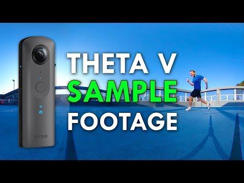 Ricoh Theta V Sample Footage + First Impressions (4K) 😮👍