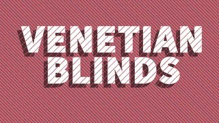 Venetian Blinds - Adobe After Effects Lesson