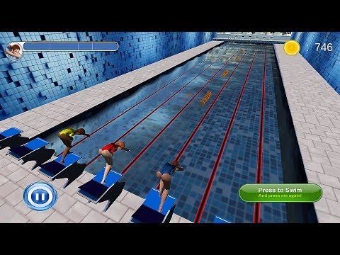 Swimming Race 3D - Android Gameplay [1080p]