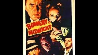 Полуночный трактир / Bowery at Midnight - классический фильм ужасов