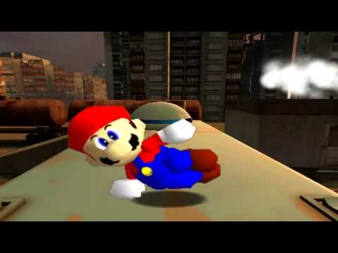 Retarded64: Mario and the retarded spaghetti factory