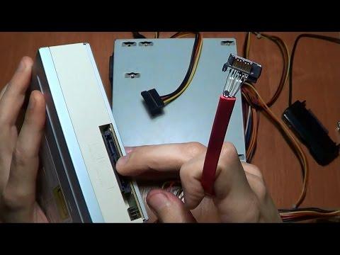 Подключение USB к HDD 3,5 SATA или DVD Бюджетный вариант