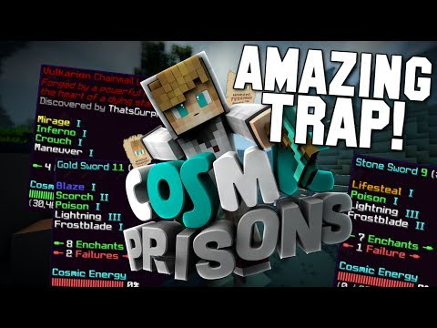 """AMAZING KILL FROM CELL PVP!"" Minecraft COSMIC PRISONS (Valron Planet) S3 Ep7"