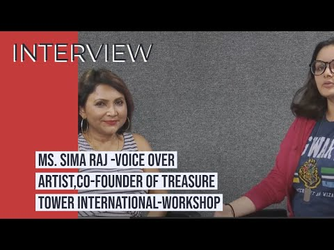 VEDA PUNE | Interview With Mrs Sima Raj.