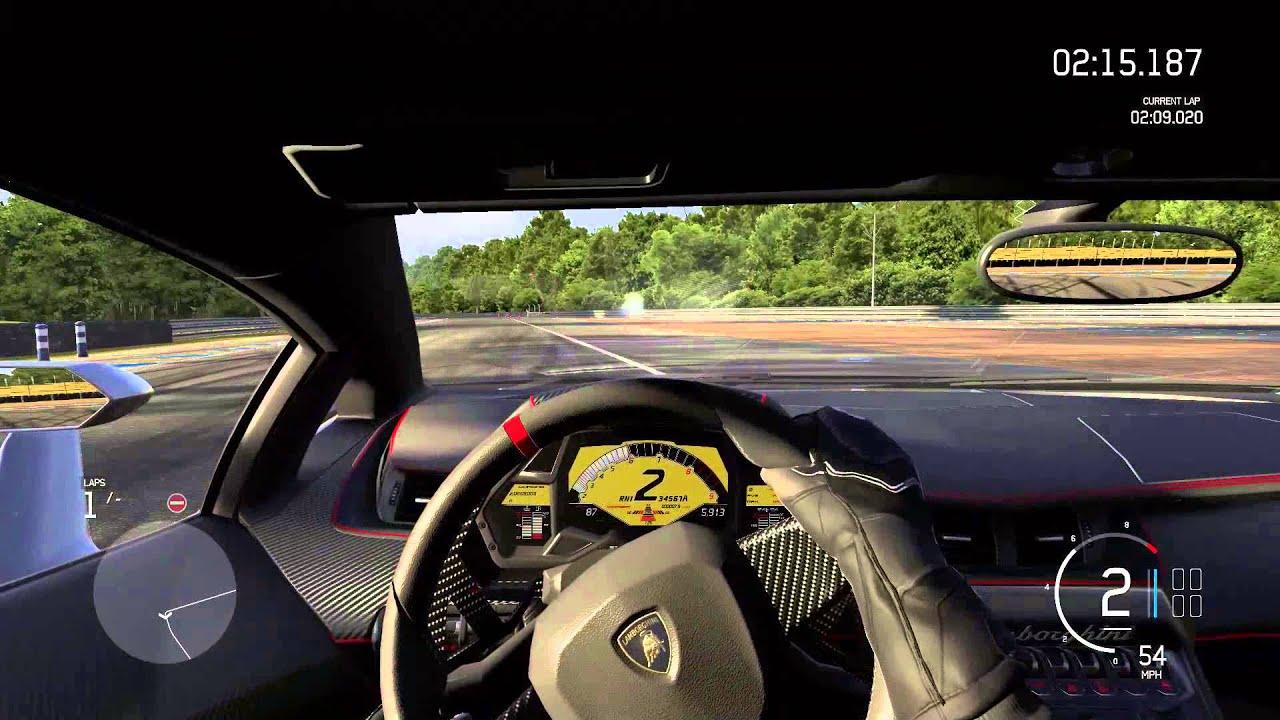 Forza 6   247 MPH   2013 Lamborghini Veneno (1,105 HP)   Top Speed