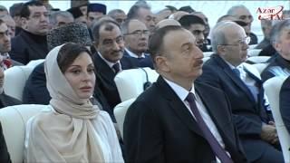 Президент Ильхам Алиев принял участие в открытии мечети Гейдара в Баку