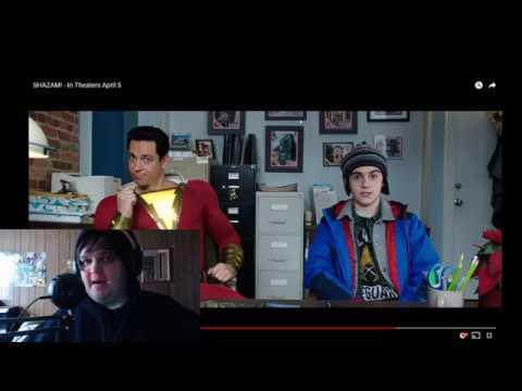 "Shazam! TV Spot "" Secret Lair"" Trailer Reaction!"