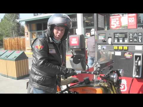 Buzz Kanter 2012 Motorcycle Cannonball