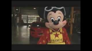 Cascades... L'envers du décor avec Mickey au Walt Disney Studios.