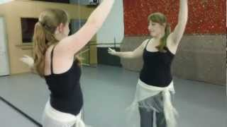 Belly Dancing With Talia Combination Lesson 3  Hip Side Travel