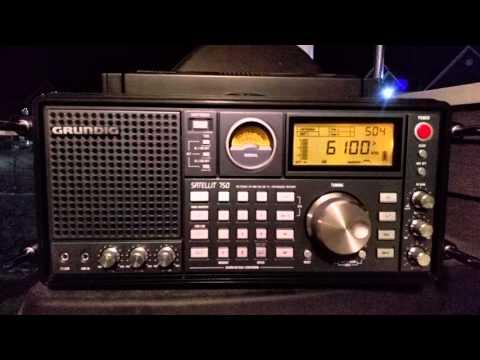 Radio Havana Cuba - English - Grundig Satellit 750 - 6100 KHZ - 05:00 UTC