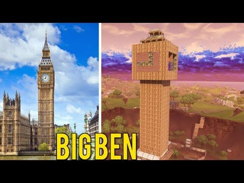 Building BIG BEN In Fortnite Battle Royale! (Playground LTM)