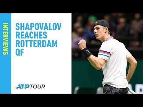 Shapovalov Beats Berdych, Reaches Rotterdam QF 2019