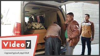 بالفيديو.. تشييع جنازة الشهيدة يارا هانى من كنيسة العذراء