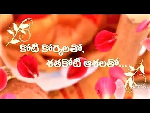 Wedding invitation video telugu wordings traditional south wedding invitation video telugu wordings traditional south indian version stopboris Gallery