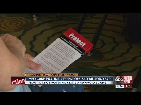 Medicare frauds ripping off $60 billion per year