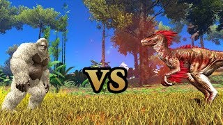 Yeti vs Alpha Raptor & MORE! || ARK: Survival Evolved || Cantex