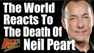 The World Reacts To Neil Peart's Death