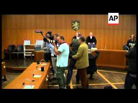 Kosovo Albanian admits killing US airmen at Frankfurt airport, file