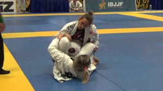 Patricia Fontes vs Leanna Dittrich, Black Belt Adult Female Open Class Final, 2016 San Jose Open