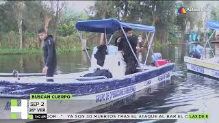 Crónica del rescate de un joven en Xochimilco