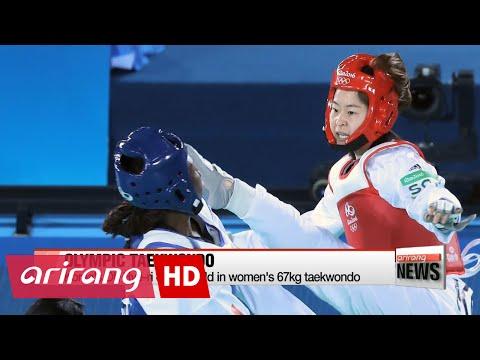 EARLY EDITION 18:00 Rio 2016: Korea's Oh Hye-ri claims gold in women's 67kg taekwondo