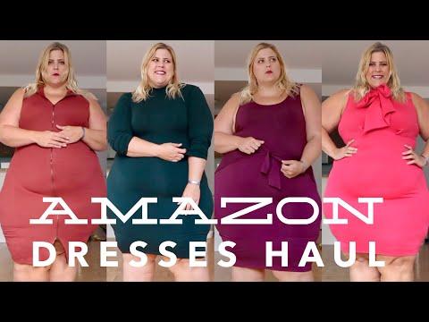 Amazon Plus Size Dresses  Haul