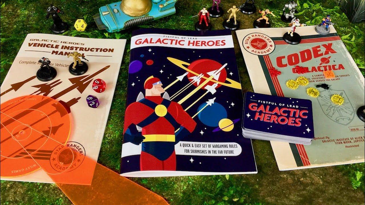 Galactic Heroes SciFi Skirmish Game