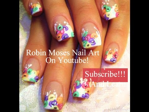 Nail Art Tutorial Easy Diy Fruit Loops Nails Cute Nail Designs Youtube