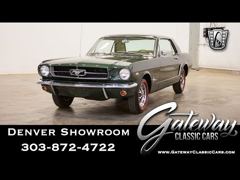 1965 Ford Mustang - Denver Showroom #591 Gateway Classic Cars