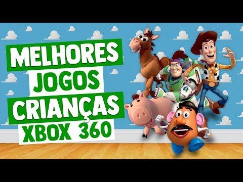 MELHORES JOGOS XBOX 360 PARA CRIANÇAS