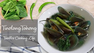Tinolang Tahong  Simple and Easy Mussel Soup Recipe  TCL