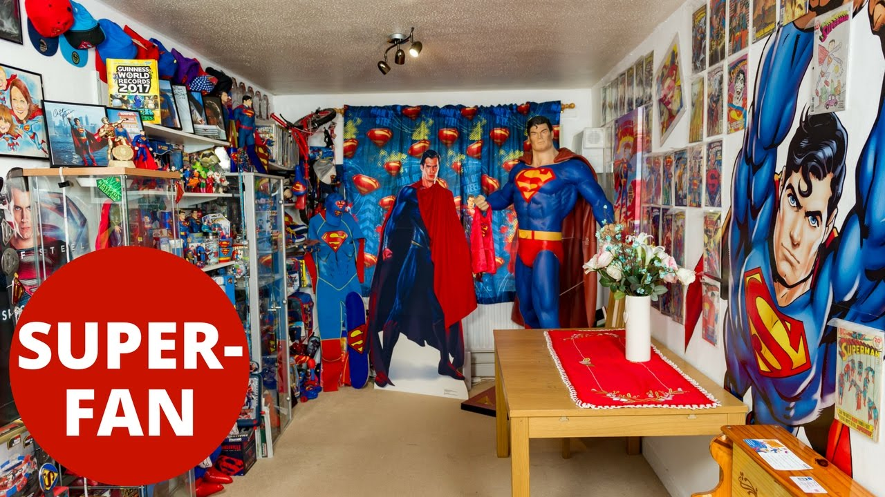 Comic book mega fan Marco Zorzin changes his middle name to 'Superman'