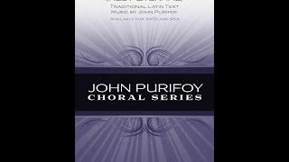 Requiem Aeternam (Rest Eternal) (SATB Choir) - By John Purifoy