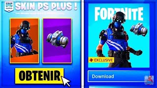 'EXCLU WORLD'S 'GLITCH':HAVE THE NEW PACK PSPLUS FREE ON FORTNITE