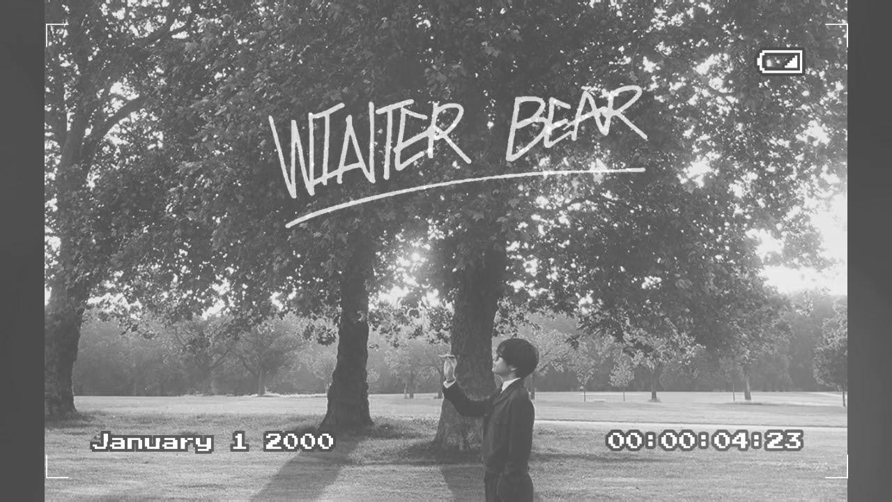 winter bear v bts 1 hour loop youtube