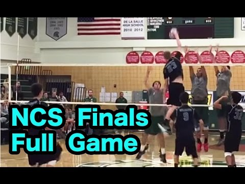 Dougherty Valley vs De La Salle (FULL GAME) - NCS 2016 Boys Volleyball Division 1 Finals