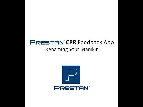 PRESTAN CPR Feedback App: Renaming Your Manikin