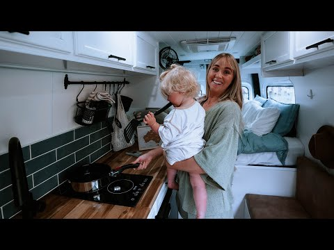 Day in the Life   Van Life with a Toddler