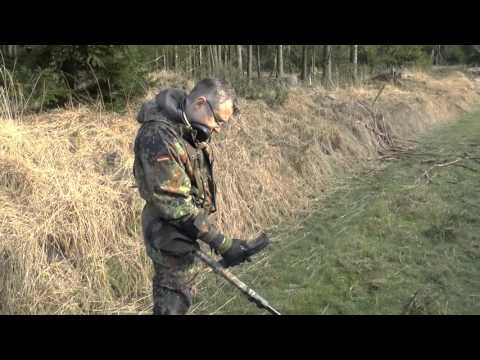 Прогулка по немецкому лесу! Металлодетектор 30.12.15