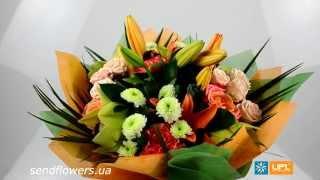 Букет Сюрприз - букет на 8 марта. Заказать цветы - SendFlowers.ua(Заказать букет Сюрприз прямо сейчас: http://www.sendflowers.ua/product/surpriz Букет «Сюрприз» — яркая и, вместе с тем, нежная..., 2014-03-05T14:44:31.000Z)
