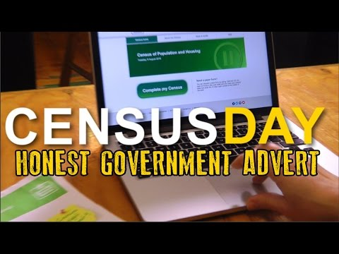 Honest Government Ad - CensusFail